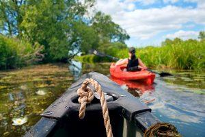Rivershore resort - River canoe