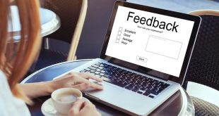 feedback concept, write review online, rating on internet