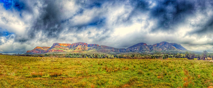 Wilpena Pound in the Flinders Ranges. Picture: Tim Lindner.
