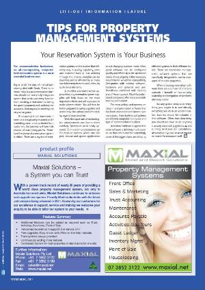 Photo of Tips for Property Management Systems