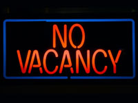AN36 - 4 - No Vacancy Sign