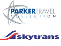 Photo of Skytrans and Parker Travel Collection promotion partners