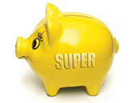 Superannuation Piggybank