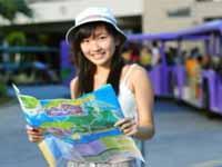 Chinese Tourist Map