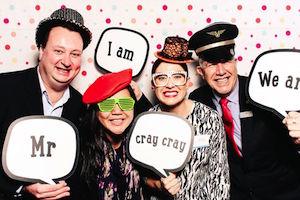 Brett Le Roy FCm Travel Solutions - Solinda Person Flight Centre Corporate- Belinda Morris GSO Oceania - Tim Birley PARKROYAL Darling Harbour