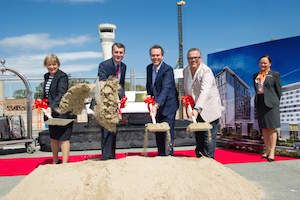Photo of New Pullman and ibis Brisbane Airport Hotels and Conference Centre break ground