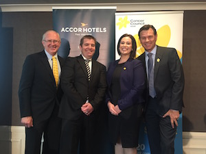 AccorHotels and Cancer Council NSW launch