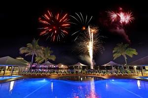 Novotel Twin Waters Resort fireworks
