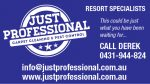 Just Professional Carpet Cleaning & Pest Control