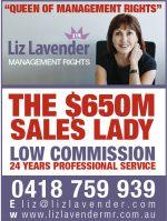 Liz Lavender Management Rights
