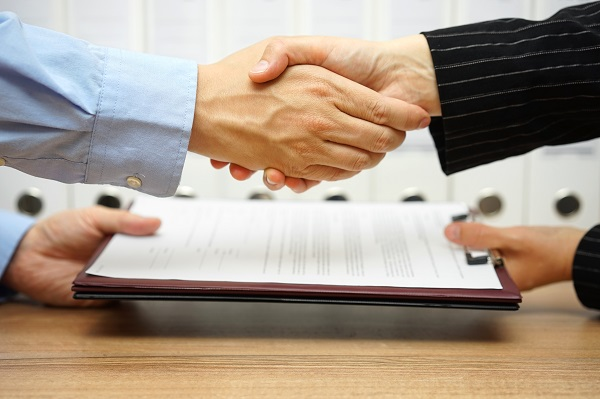 Photo of Transferring contracts: caretaking services