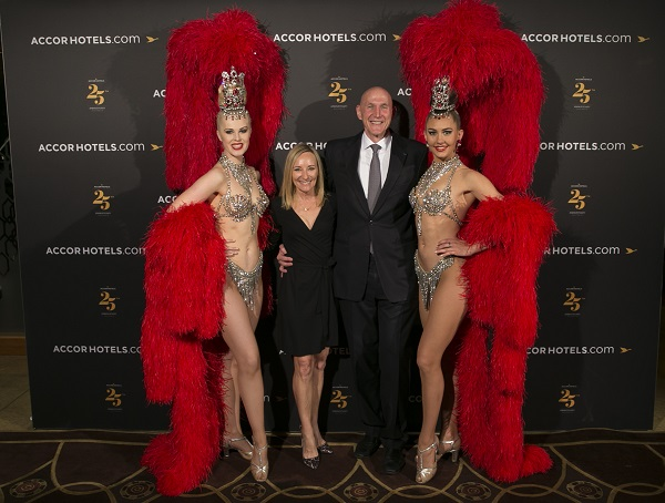 Photo of AccorHotels & Atout France magnifique 'night in Paris' soiree