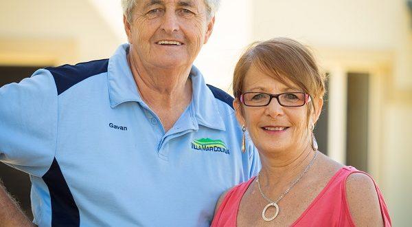 Gavan and Glenys Hurley
