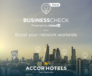 Photo of AccorHotels and LinkedIn team up on app