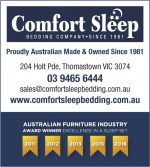 Comfort Sleep Bedding