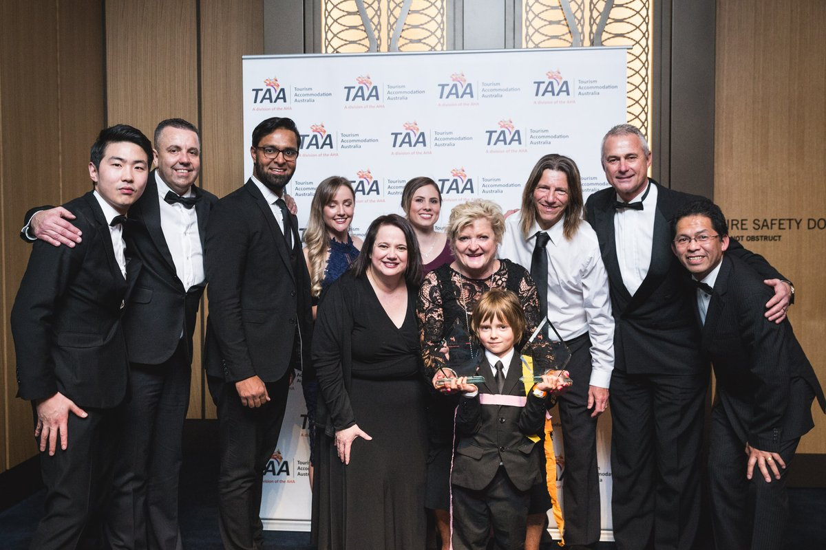 Photo of AccorHotels claim titles at 2017 TAA Awards