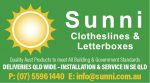 Sunni Clotheslines & Letterboxes