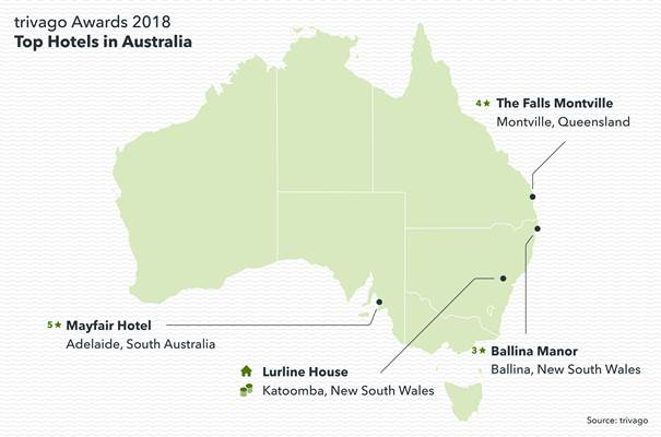 Photo of Top-rated hotels announced