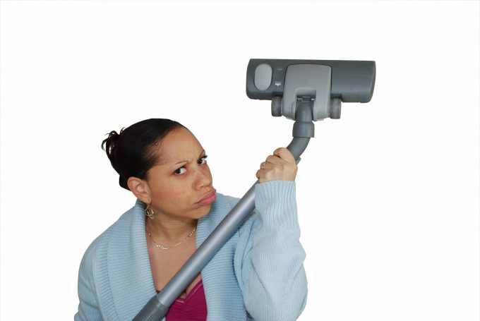 Photo of Every bad-ass housekeeper needs a loaded gun..